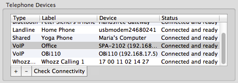 Adding a VoIP Phone or Adaptor